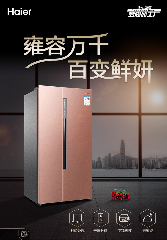 海尔双开门冰箱尺寸规格大全,海尔双开门冰箱怎么样?