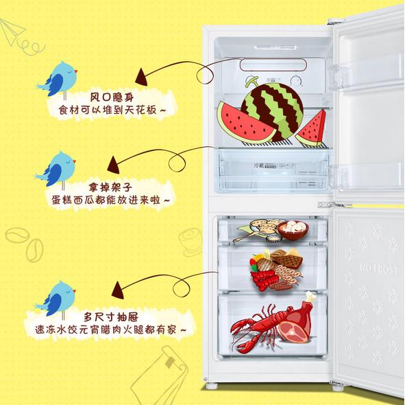 蔬菜在冰箱里正确存放?海尔双门冰箱来帮忙