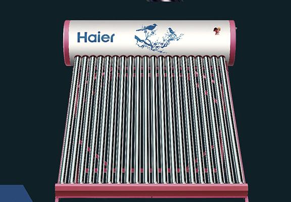 太阳能热水器安装示意图是什么样子